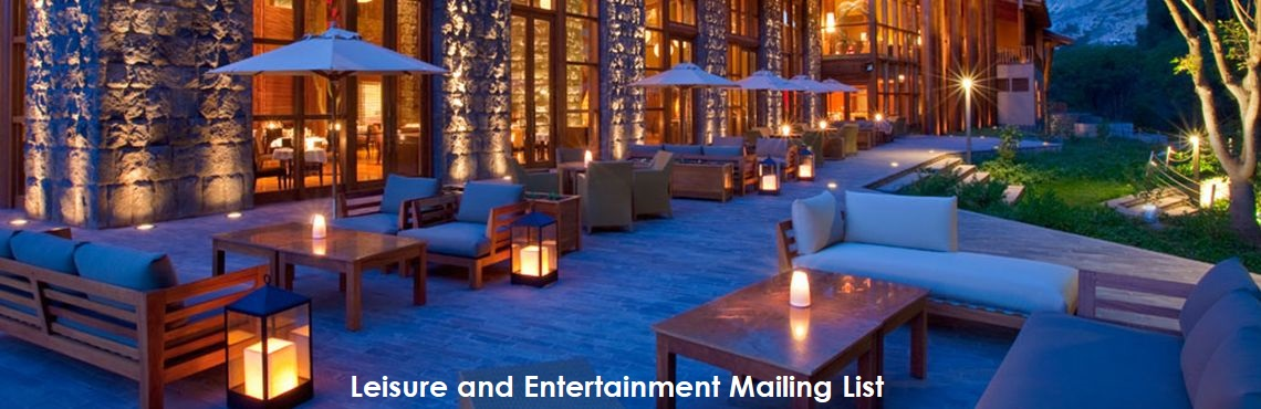 Leisure and Entertainment Mailing List